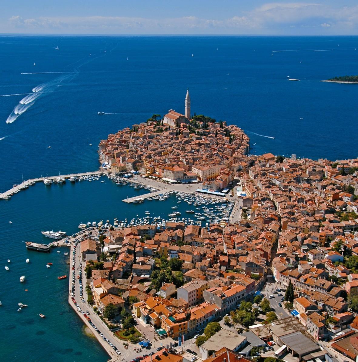 Stari grad iz zraka